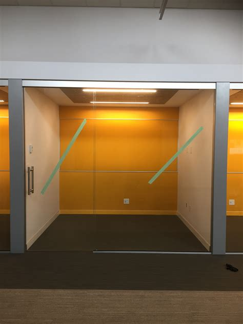 Interior Office Glass Walls Sliding Glass Doors Curtain Office Doors With Glass