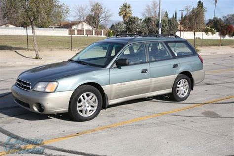 subaru station wagon green 2001 subaru outback station wagon