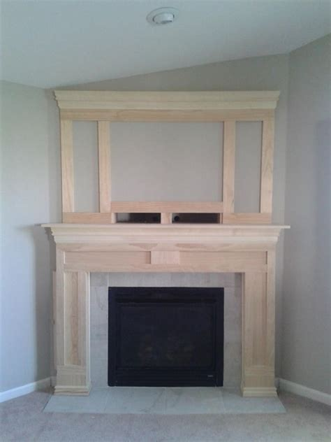 diy fireplace surround plans woodworking projects plans