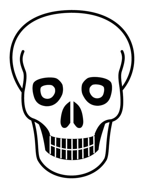 human skull coloring page pin coloring page skull img 19675 on pinterest