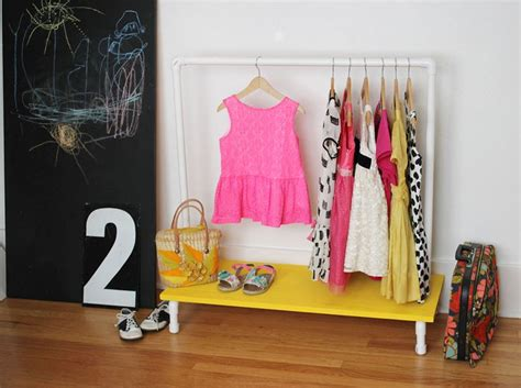Clothes Rack Dress Up Clothes by Clothes Rack Diy A Beautiful Mess