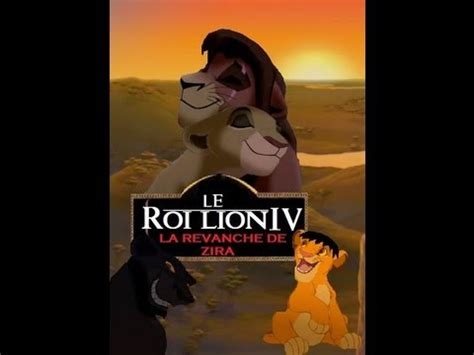 film le roi lion en streaming le roi lion 4 la revanche de zira youtube
