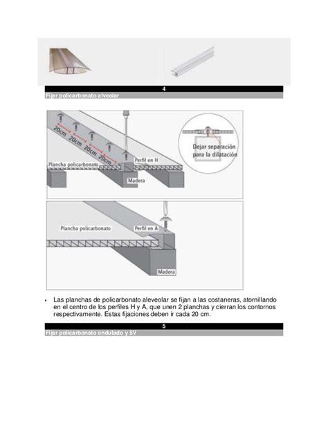 como instalar un techo de policarbonato instalacion de techo de policarbonato