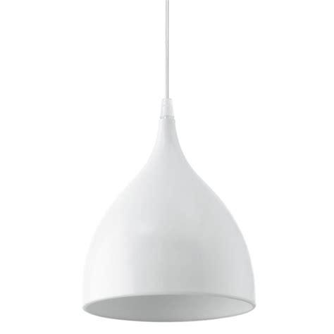 Eglo Pendant Light Eglo 92716 Coretto White Steel Pendant Light