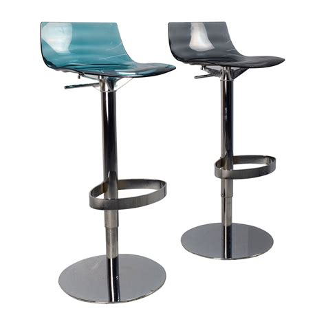 Swivel Bar Stools Adjustable by 87 Calligaris Calligaris L Eau Adjustable Swivel