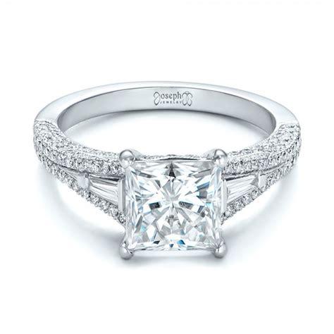 custom and pink tourmaline engagement ring 102324
