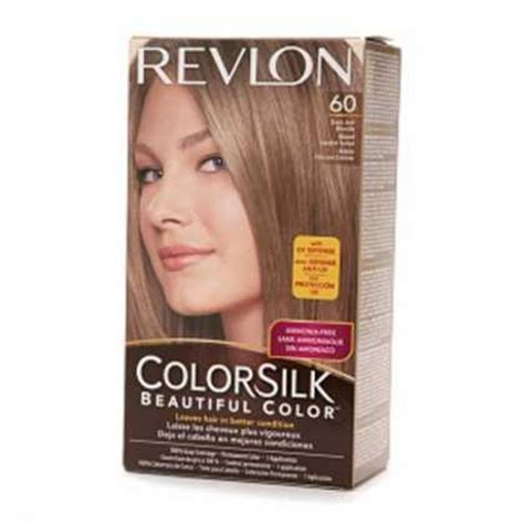 hair colour 60 revlon colorsilk hair color dye dark ash blonde 60