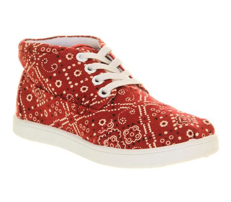 red bandana house shoes kids toms youth botas red bandanna kids size 11 youth ebay