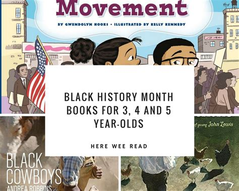 picture book month black history month books for 3 4 5 year olds here