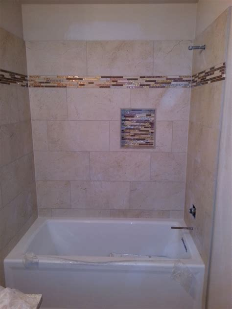 12x24 tile shower atx tile built tub surround 12x24 inch tile stacked on