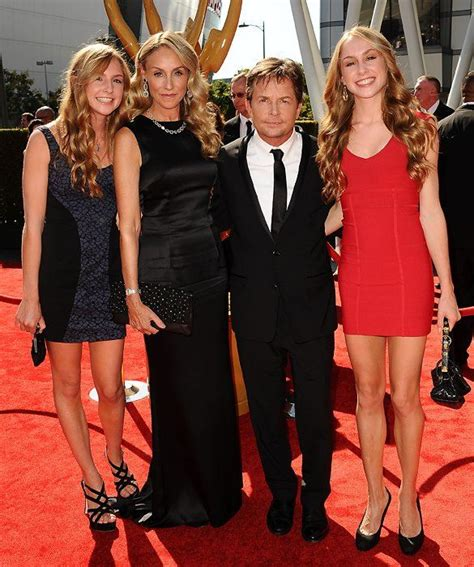 michael j fox vermont michael j fox tracy pollan with twins aquinnah and