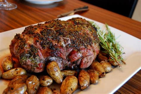 recipe roast leg of lamb roasted boneless leg of lamb recipe dishmaps