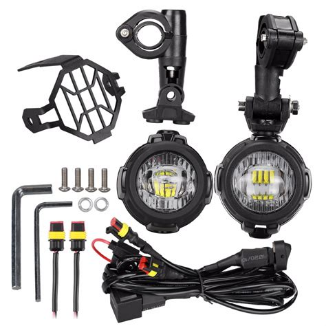 Led Motor suparee 40w led motor motorcycle fog universal led moto auxiliary fog light driving motorcycle