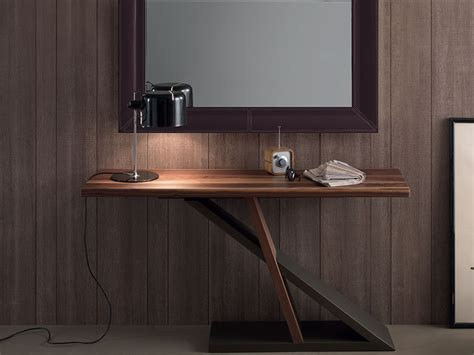 Quality Bedroom Furniture Brands compar contemporary zed console table in walnut and