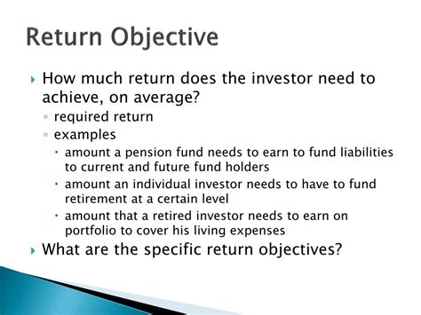 investment objective statement investment objective statement 28 images financial