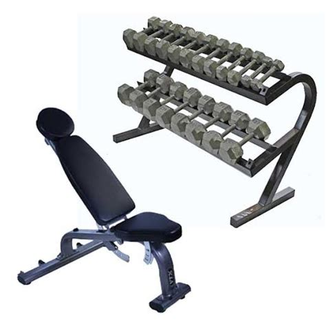 Solid Dumbbell Rack by Solid Hex Dumbbell Station 5 50lb Dumbbells Storage Rack