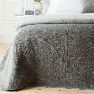 Velvet decorative quilt full contemporary quilts by zara home