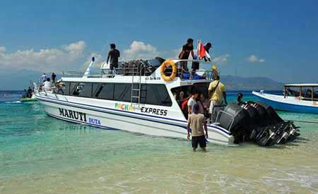 amed gili fast boat fast boat dari amed ke gili trawangan lombok