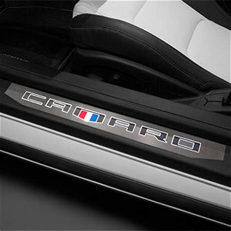 2016 2018 camaro illuminated door sill plates for