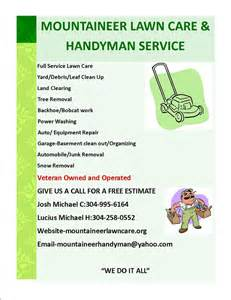 lawn care flyers templates high quality lawn care flyer 2 lawn care service flyer