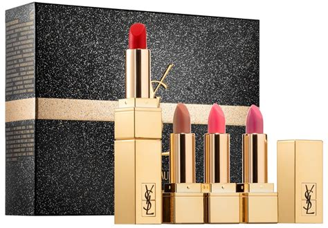 Ysl Rpc Limited Edition by Yves Laurent Pur Couture Lipstick Set For