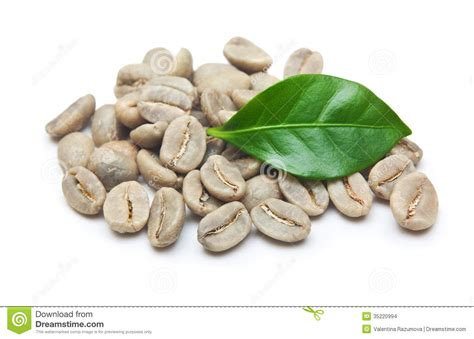 Green Coffee Beans Stock Images   Image: 35220994
