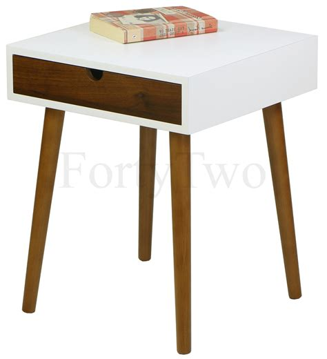 Bedroom Side Tables Singapore Martino 2 Walnut Side Table Bedside Tables Bedroom