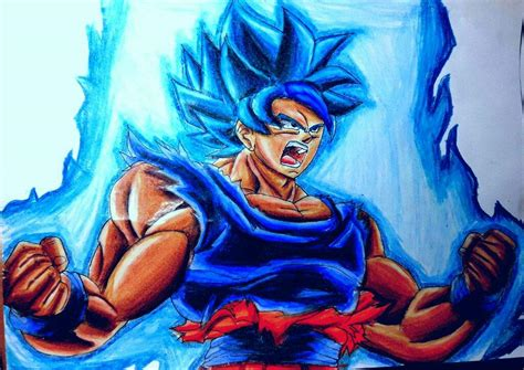 imagenes goku ssj dios azul goku ssj dios azul dragon ball espa 209 ol amino