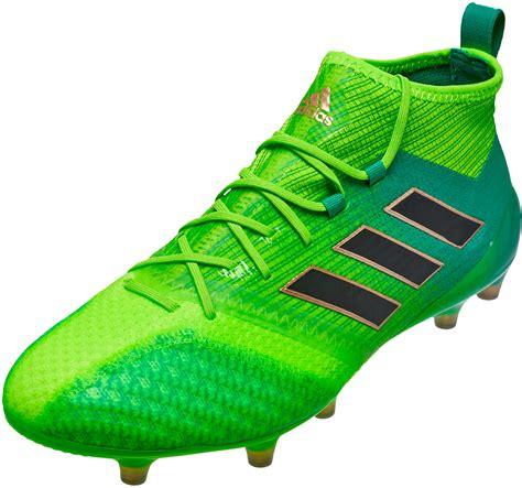 adidas ace 17 1 primeknit fg green ace soccer cleats