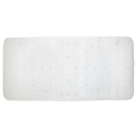 cushioned bathtub mat ginsey cushioned bath mat in white buybuy baby