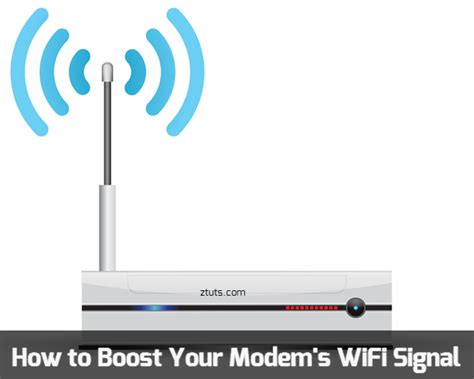 how to improve your modem wifi signal range tips tricks