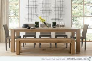 Solid Oak Dining Room Table 15 Perfectly Crafted Large Dining Room Table Designs