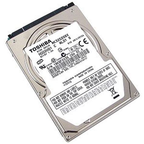 Hdd Toshiba 320 Gb toshiba 2 5 quot hdd 320gb disco duro sata 320 gb 6 35 cm