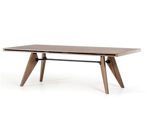 New Style Dining Table Modern Style Walnut Dining Table 44d1403t Wal