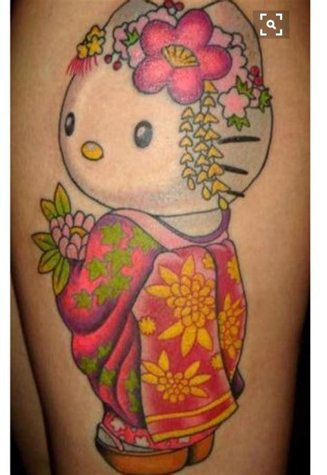 small geisha tattoo geisha hello