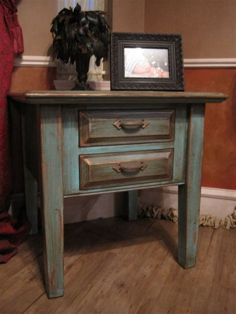 distressed end table best 25 distressed end tables ideas on