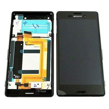sony xperia m4 aqua front cover & lcd display black