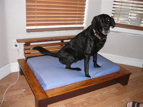 new dog platform bed by markwilk lumberjocks com