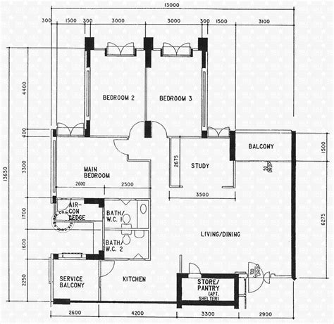 hdb floor plans anchorvale link hdb details srx property