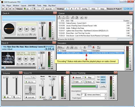 Sam Broadcaster Studio V498 sam broadcaster торрент софт архив