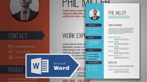 cv design tutorial how to create an elegant simple resume in microsoft word