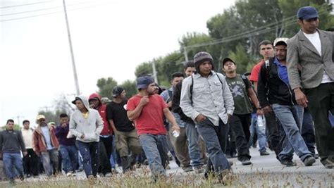 el 60 de menores deportados son originarios de tres detenidos 468 migrantes durante el fin de semana en m 233 xico noticias telesur