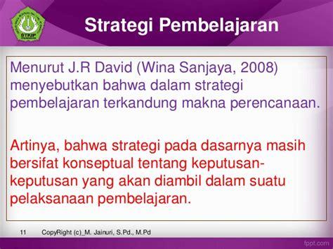 Kurikulum Dan Pembelajaran Wina Sanjaya p5 model pendekatan strategi metode teknik pemb