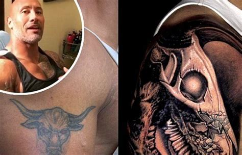 dwayne the rock johnson tattoo cost dwayne johnson shares story behind his updated arm tattoo