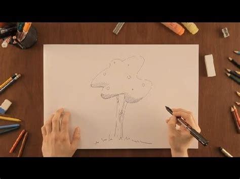 imagenes faciles para dibujar de la naturaleza c 243 mo dibujar 225 rboles dibujos de la naturaleza youtube