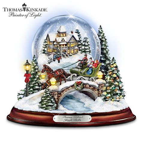 collecting thomas kinkade snow globes snowglobe waterglobe