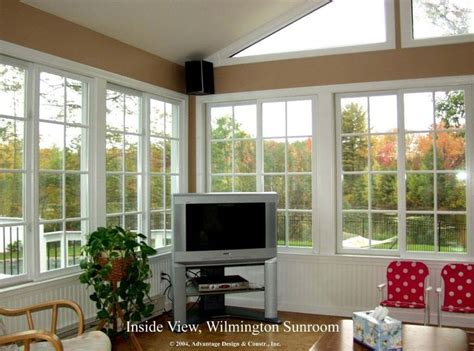 Sunroom Porch Ideas Interior Photos Of Sunrooms Interior Of Gable Roofed