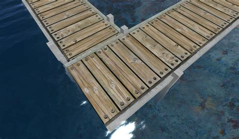 boat dock planks second life marketplace concrete dock pier wharf or