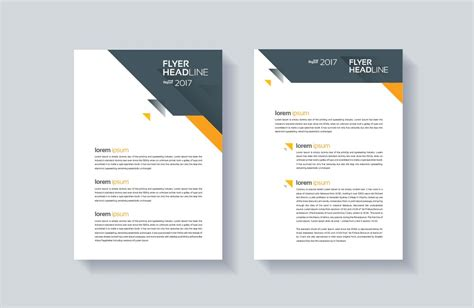 design flyer template simple brochure design templates theveliger