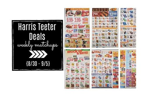 harris teeter coupons deals